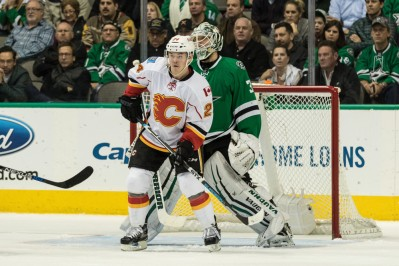 NHL: JAN 25 Flames at Stars